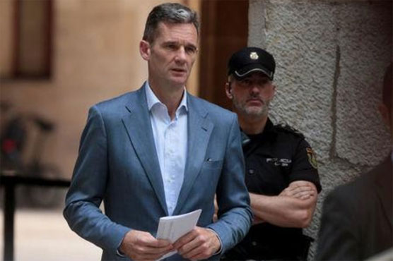 Court gives Spanish princess' husband 5 days to go to prison