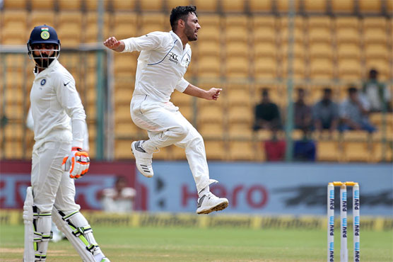 Afghans restrict India to 474 in Test debut