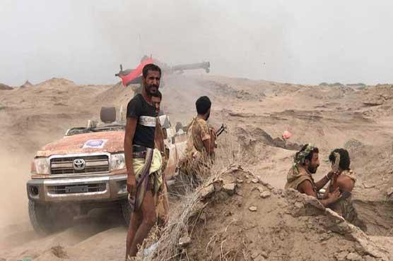 Clashes flare near Yemen's flashpoint Hodeida