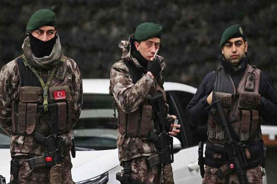 Turkey detains 14 IS suspects 'planning election attack'