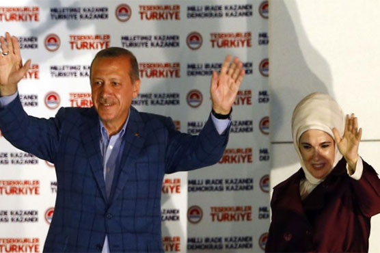 Erdogan secures sweeping new powers as rival accepts vote defeat