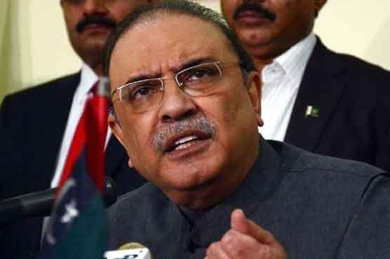 Had no role in NRO legislation: Asif Zardari