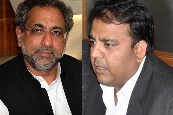 Nomination papers of Shahid Khaqan Abbasi for NA-57, Fawad Ch for NA-67 rejected