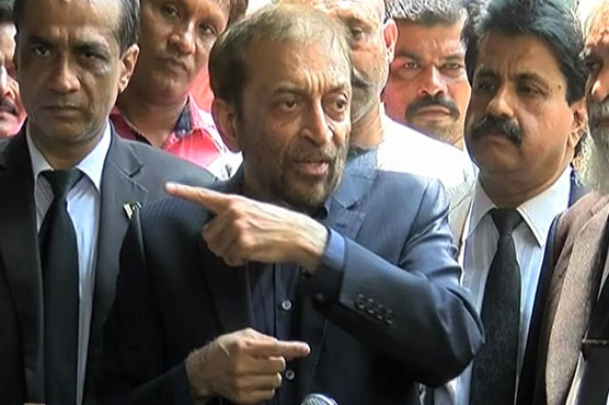 Farooq Sattar sets condition for withdrawing candidates against Imran, Shehbaz
