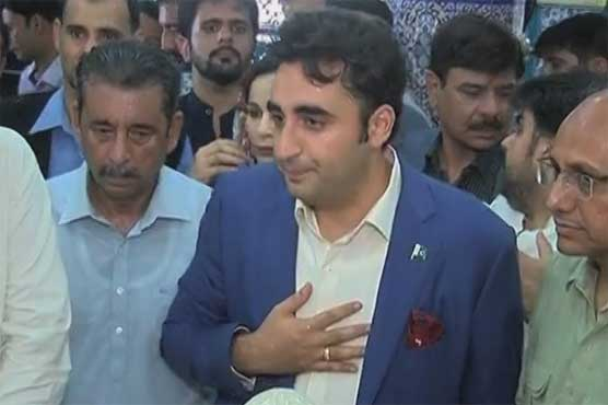 Bilawal Bhutto kicks of election campaign with visits to shrines