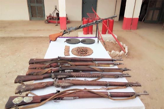 Heavy weapons, suicide jackets recovered during IBOs in Balochistan