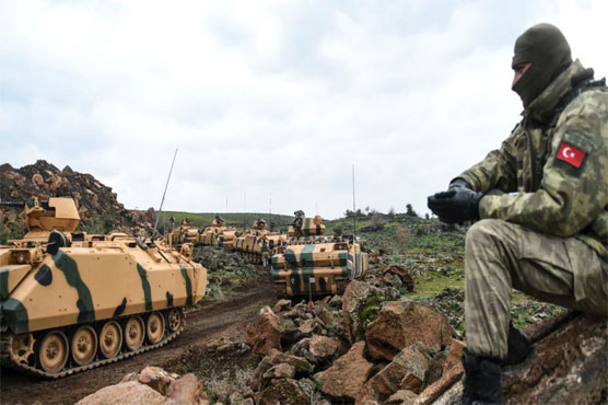 Eight Turkish soldiers killed in Syria, 13 wounded: army