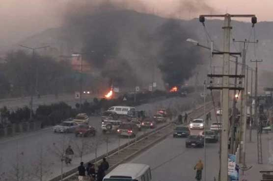 One killed as Kabul car bomb targets foreign forces: ministry