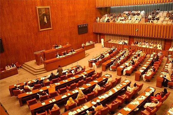 Pakistani lawmakers begin secret vote for 52 Senate seats
