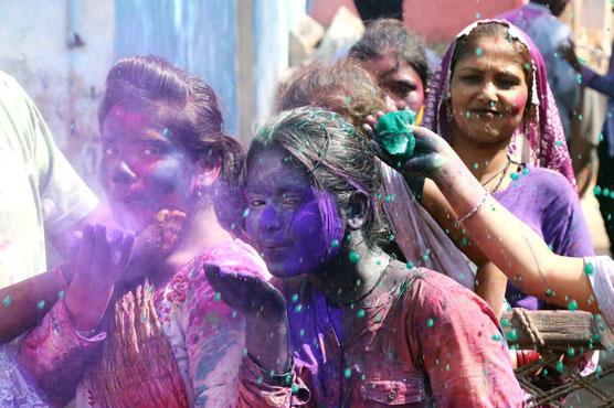 All set for Holi celebration today