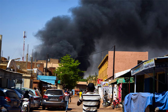 Attackers hit targets in Burkina Faso's capital in coordinated assault