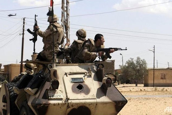 4 soldiers, 10 militants killed in Egypt Sinai campaign