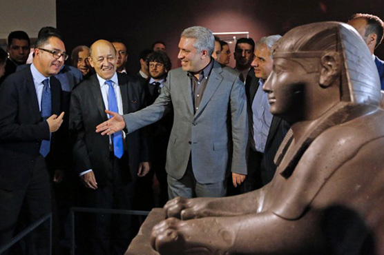 In Iran, France Blends Hard Talks With Soft Power At Louvre Exhibit