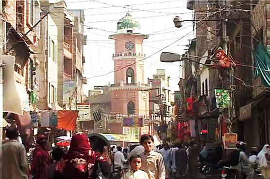 Preserving heritage: Peshawar's Ghunta Ghar Bazaar undergoes renovation