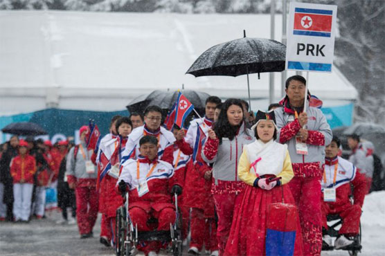 The two Koreas will not march together at Friday's Winter Paralympics opening ceremony