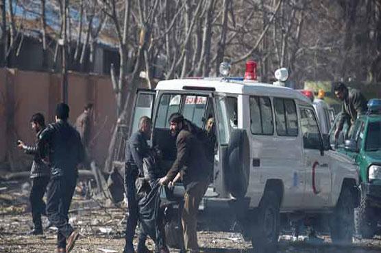 Suicide bomber kills at least nine in Kabul Shiite area