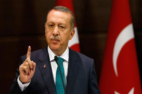 Erdogan says Turkey can enter Afrin centre 'at any moment'