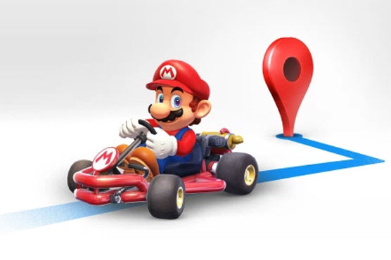 Mario will kart you around in Google Maps update