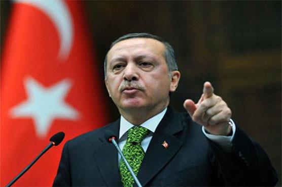 Erdogan vows to press Syria offensive to key Kurdish-held towns
