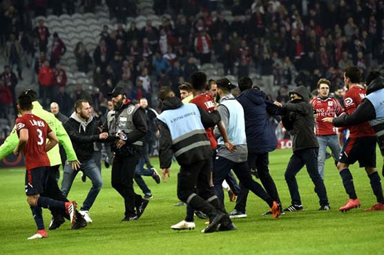 French league will investigate fan violence in Lille