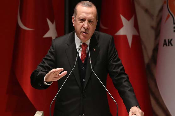 Erdogan slams NATO for failing to back Syria campaign