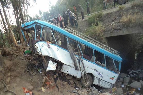 Bus crash kills 38 in Ethiopia: state media