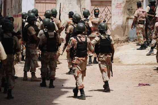 Rangers official martyred in grenade attack in Karachi