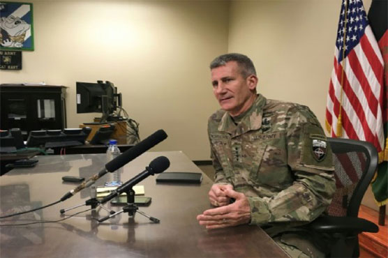 Top US general in Afghanistan urges 'tired' Taliban to talk peace