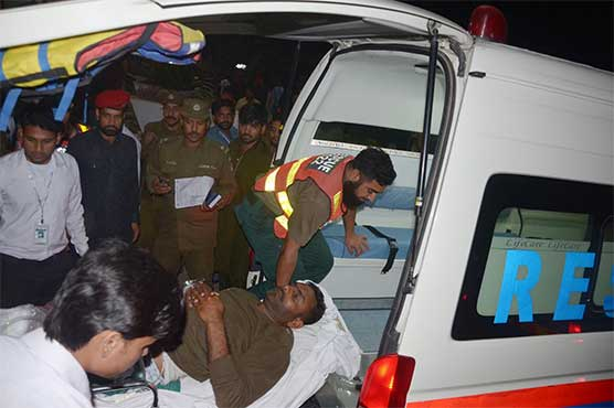 Suicide blast claims ten lives in Raiwind, leaves 19 injured