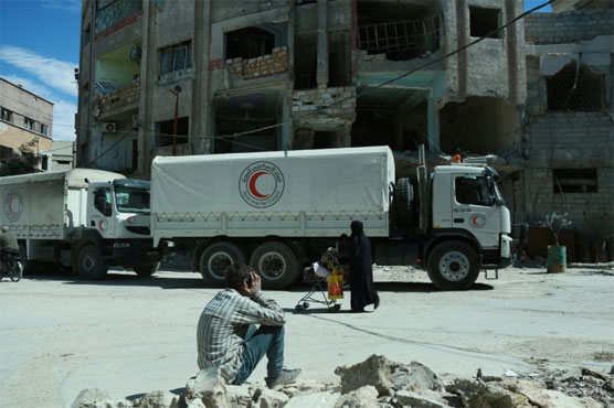 Fresh aid convoy to reach Syria's rebel-held Eastern Ghouta