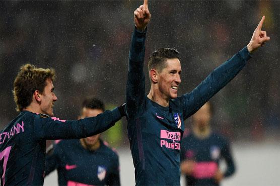 Europa League: Torres, Griezmann Fire Atletico Past Lokomotiv Moscow Into Quarter-Finals