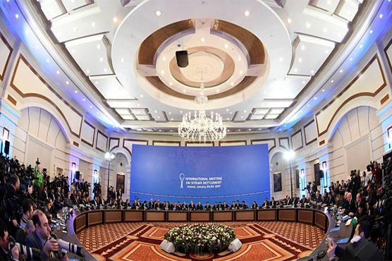 Iran, Russia and Turkey hold Syria talks in Astana