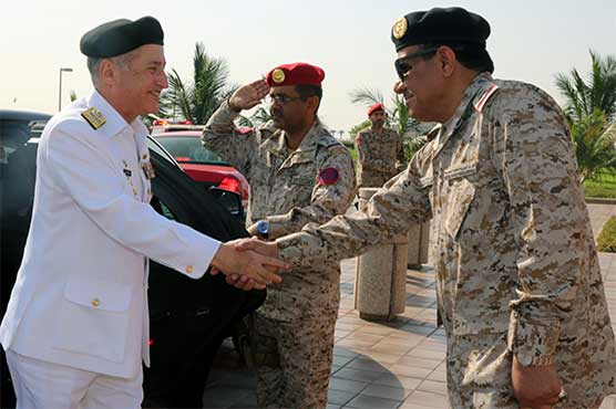 Naval Chief Admiral Abbasi calls on Western Fleet Commander in Jeddah