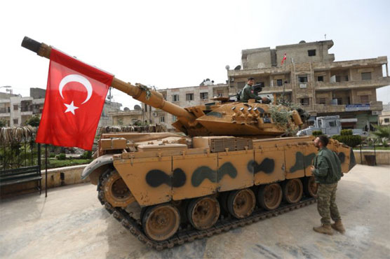 Turkish-led forces oust Kurds from Syria's Afrin