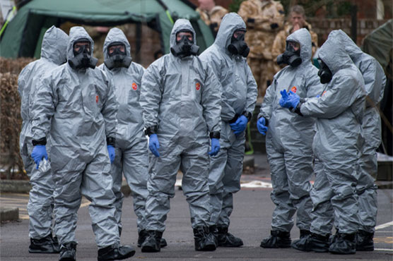 Chemical weapons experts head to Britain in Russia spy case