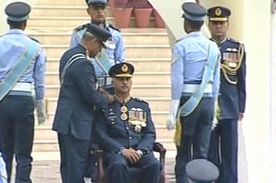 Air Chief Marshal Mujahid Anwar Khan takes over as PAF chief