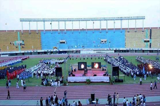 Inter-Provincial Games torch lit in Peshawar
