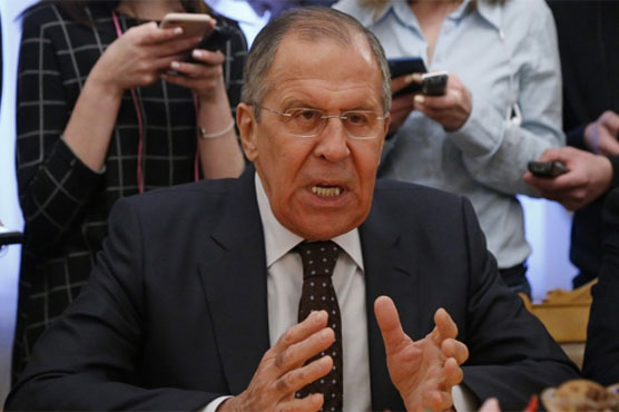 Russian FM threatens to 'hit back' at Britain over spy poisoning