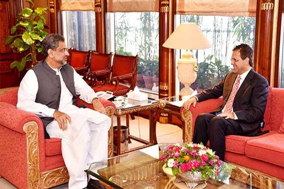 Afghan Ambassador calls on PM Abbasi