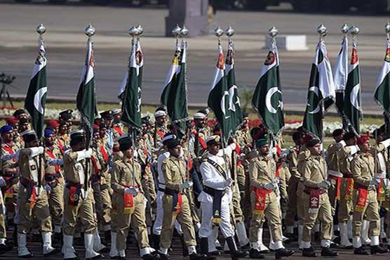 Military parade held in Islamabad to mark 78th Pakistan Day
