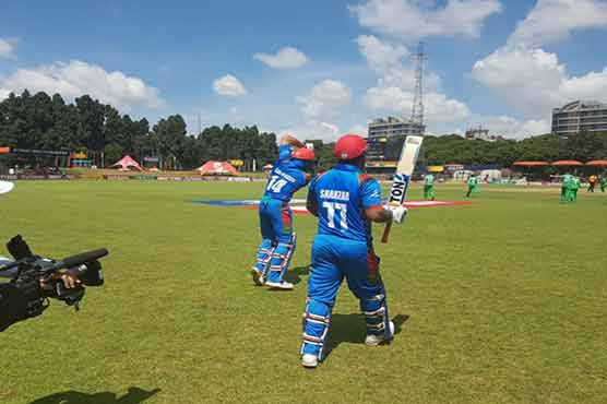 Afghanistan crush Ireland by five wickets to qualify for World Cup