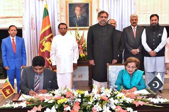 Pakistan, Sri Lanka vow to work together for regional peace