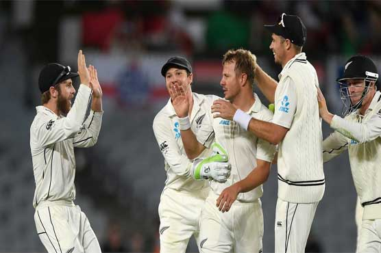 Fourth day of NZ-England Test begins