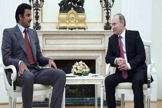 Qatari emir to discuss Syria, economy with Putin on Russian Federation visit - spokesman
