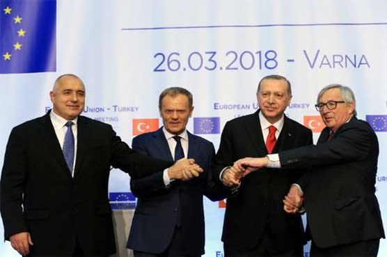 Erdogan insists Turkey wants European Union membership