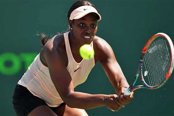 Stephens advances to set up finals clash with Ostapenko