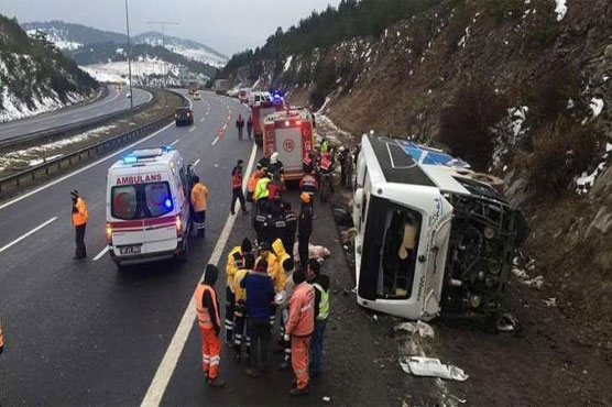 17 dead as bus with illegal migrants crashes in Turkey: media