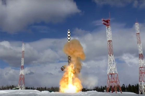 Russian Federation tests new missile
