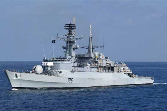 Pak Navy flotilla reaches KSA to participate in Joint Tri-Services Exercise Gulf Shield