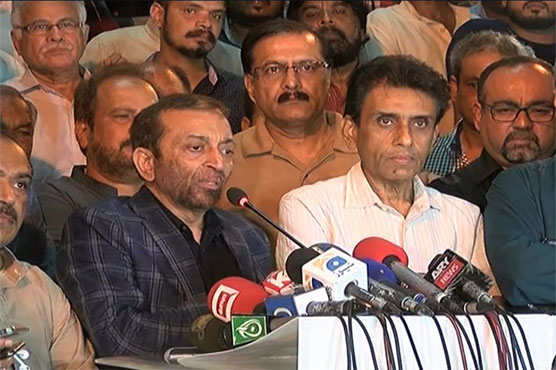 Both factions of MQM-P join hands for May 5 public meeting
